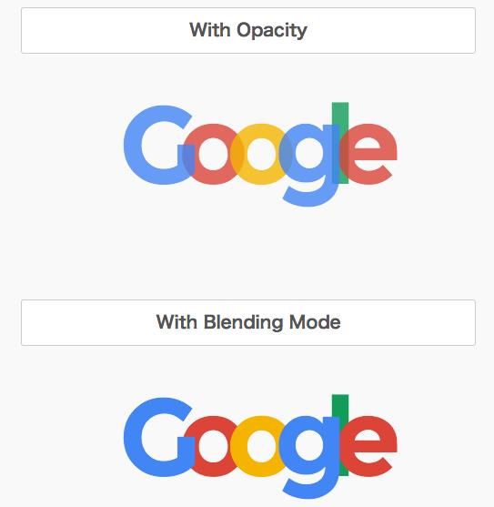 [CSS] Blending Modeを利用したロゴの作成