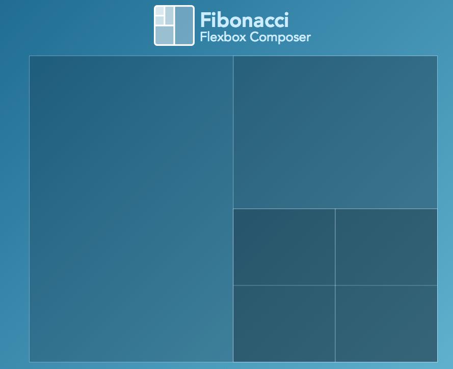 [CSS] フレキシブルなボックスレイアウトを自由に生成できる「Fibonacci」