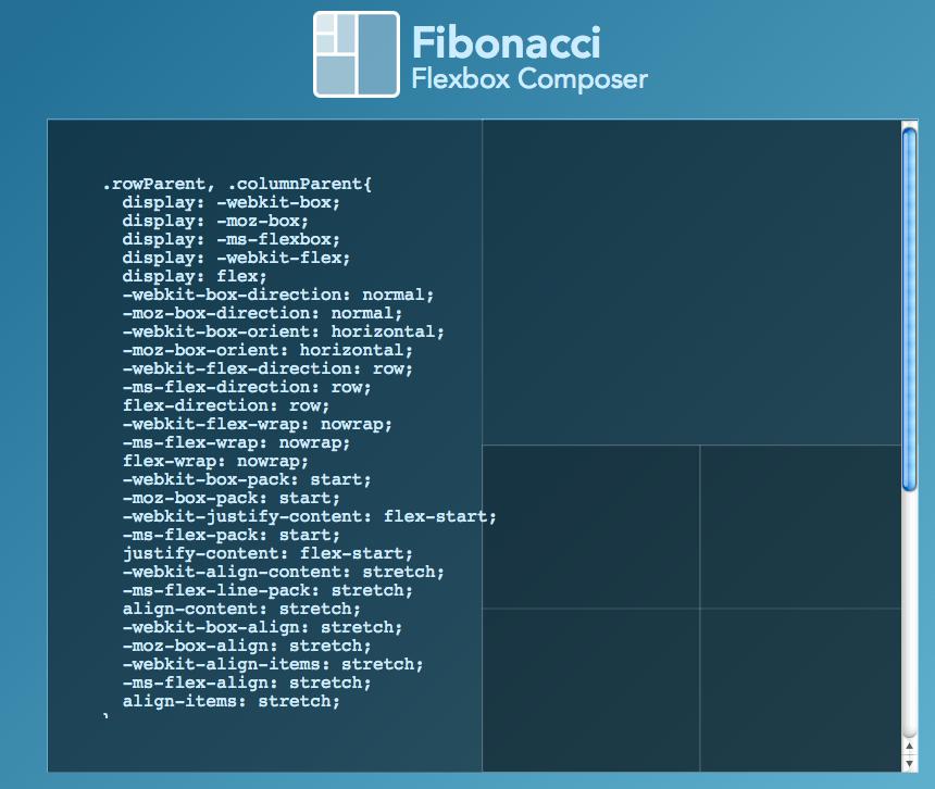 Fibonacci Flexbox 02
