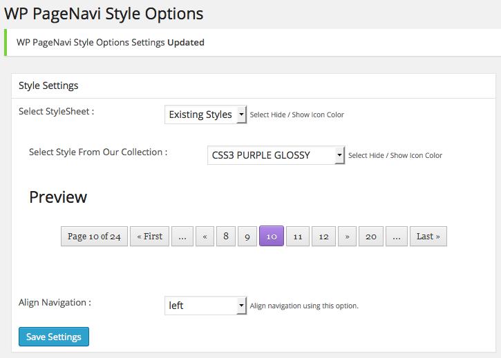 [WP] PageNaviのデザインを簡単に変更できる「WP PageNavi Style」