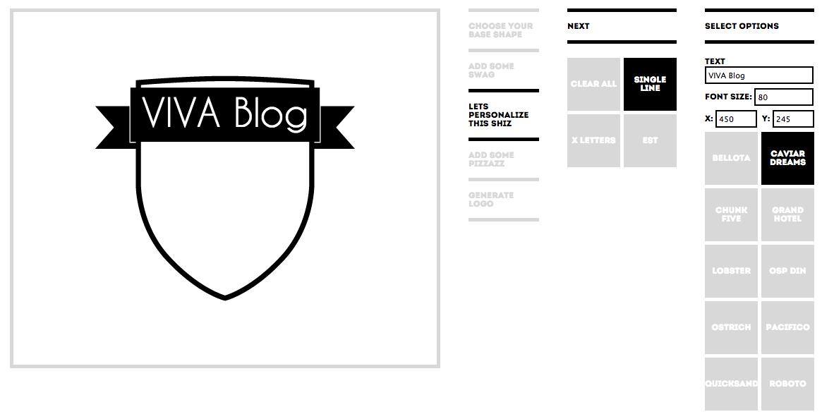 Hipster logo generator for Hipster logo generator